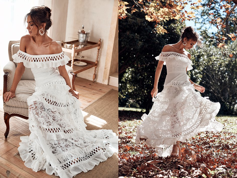 wedding dresses, bridal gowns, grace loves lace, bohemian wedding dress