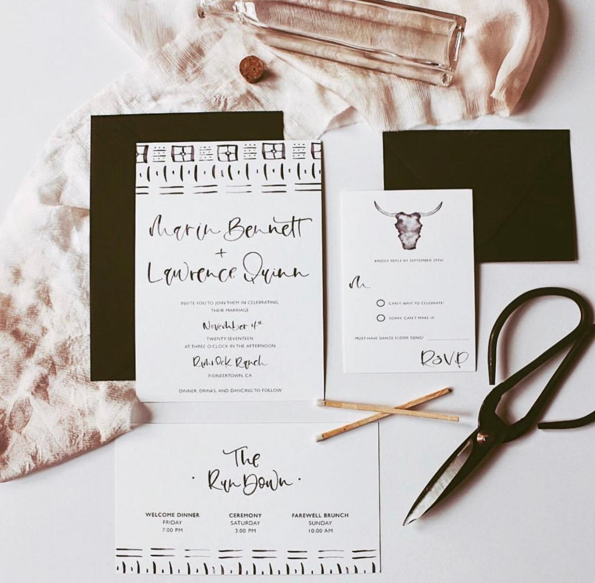 Invitation by Pink + Peach