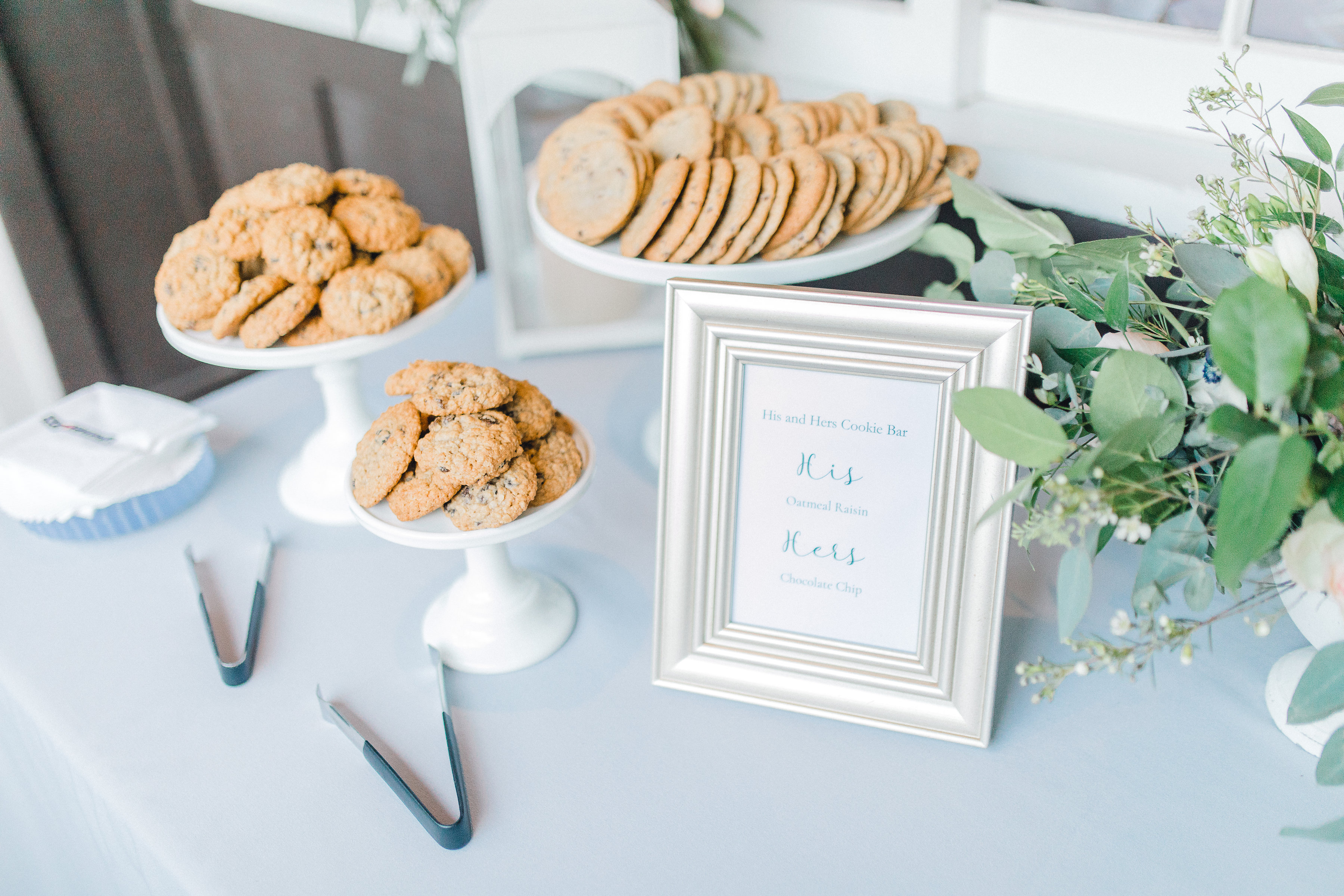 Seattle wedding, Washington wedding, bride and groom, PNW wedding, wedding inspiration, wedding flowers, Seattle bride, outdoor wedding, garden wedding, wedding decor, wedding decorations, wedding desserts, wedding cookies, His and Her cookies