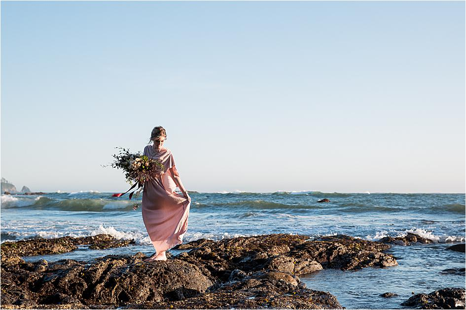 rialto beach, seattle elopement, seattle wedding, wedding photography