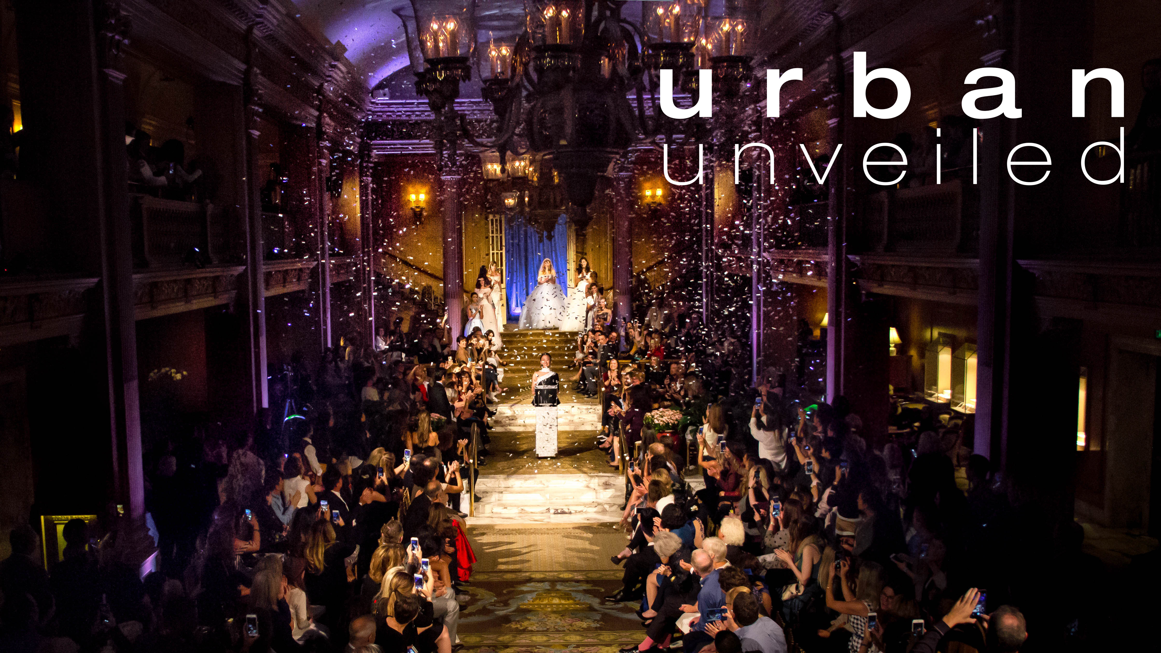 Seattle Bride's Urban Unveiled 2019 - photo from the Luly Yang runway