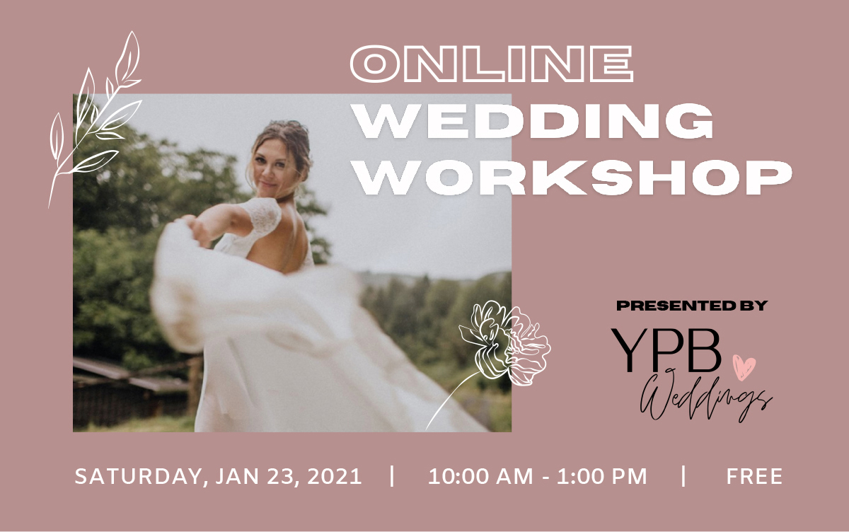 Online Wedding Workshop Presented by Your Perfect Bridesmaid Weddings