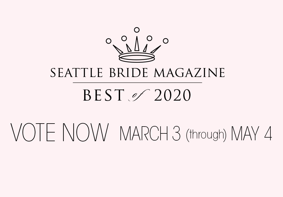 Seattle Bride Magazine Best of 2020