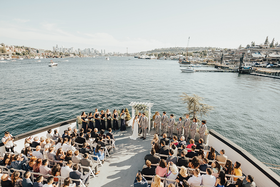 summer wedding seattle