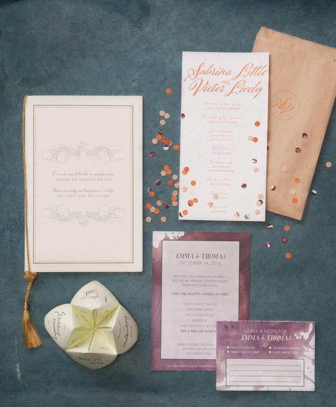 Interactive Wedding Ideas: Get With The Program: Four Fun & Interactive Wedding