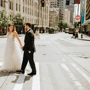Kylie and Eric, photo by Jenna Bechtholt Photography