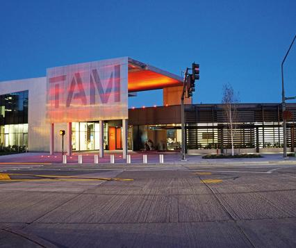 """Courtesy of Tacoma Art Museum; Say """"I do"""" to the modern TAM building in Tacoma"""