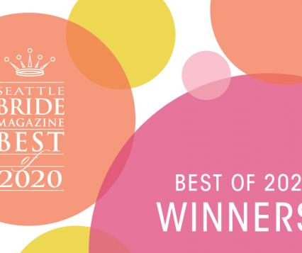 Seattle Bride Best Of 2020 Winners