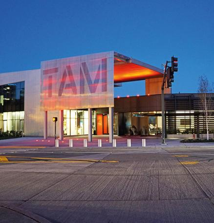 "Courtesy of Tacoma Art Museum; Say ""I do"" to the modern TAM building in Tacoma"