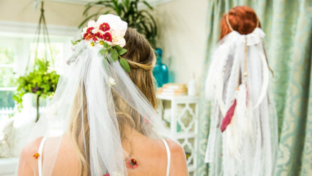 How to Make Your Own Boho-Chic Bridal Veil | Seattle Bride