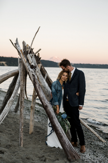 Gig Harbor Wedding Couple