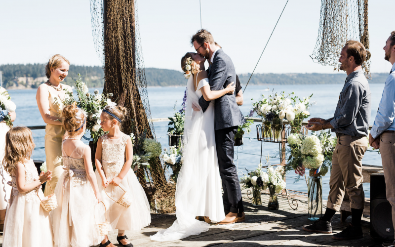 Gig Harbor Waterfront Wedding