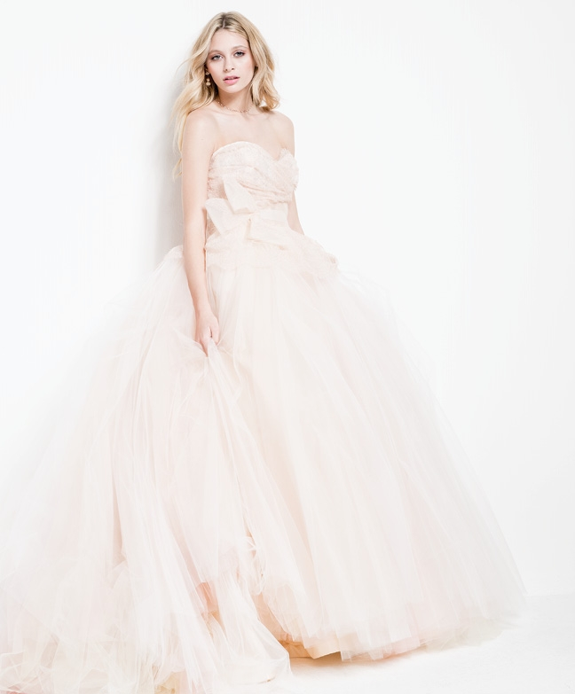 Seattle Think Pink: The Best In Blush-Colored Wedding Gowns