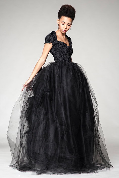 halloween wedding dresses