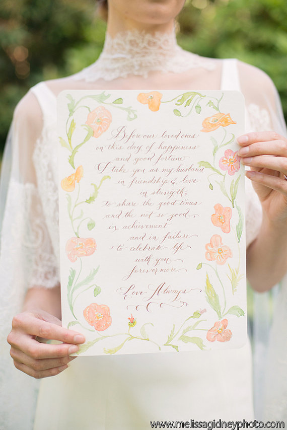 calligraphy_vows